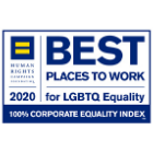 Human Rights Campaign Foundation's 2020 Corporate Equality Index logo.