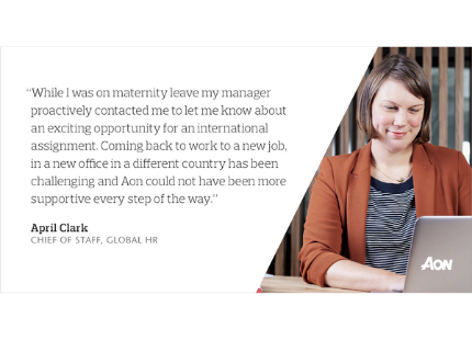 April Clark - Chief of Staff, Global HR