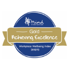 Gold - Mind Workplace Wellbeing index 2018/19