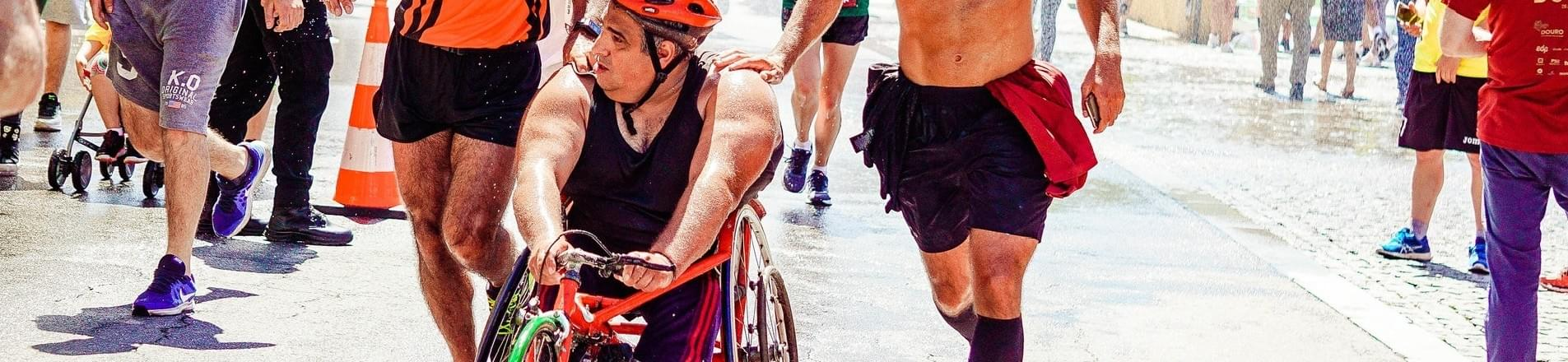 Bae Systems support wheelchair athletes