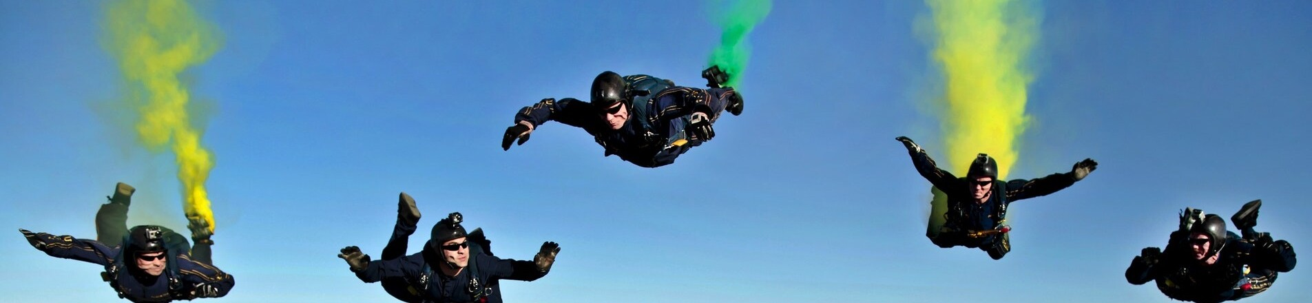DCH's Skydiving employees raise £5000 for Shelter