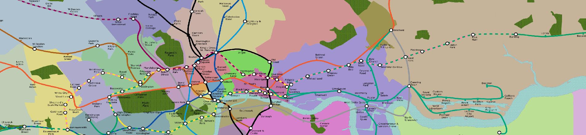 London Underground Map Redesigned to Help Anxious Passengers