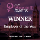 2020 Women in IT Awards London  Employer of the Year