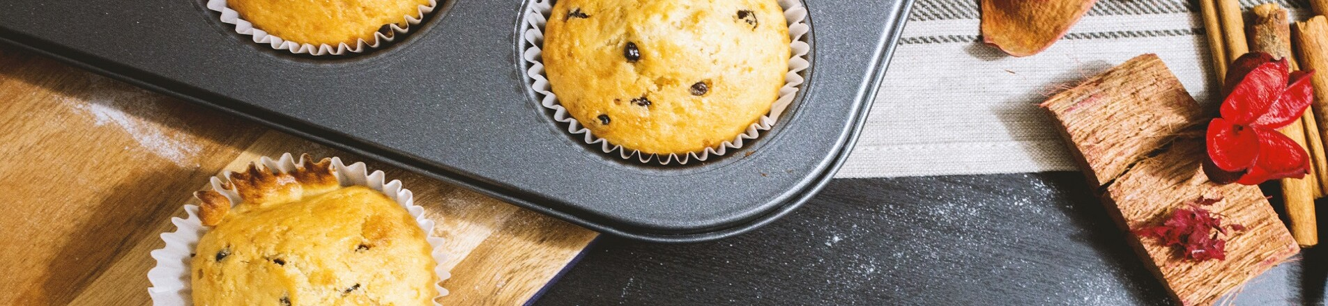 Atkins: Its official, we've caught the baking bug!