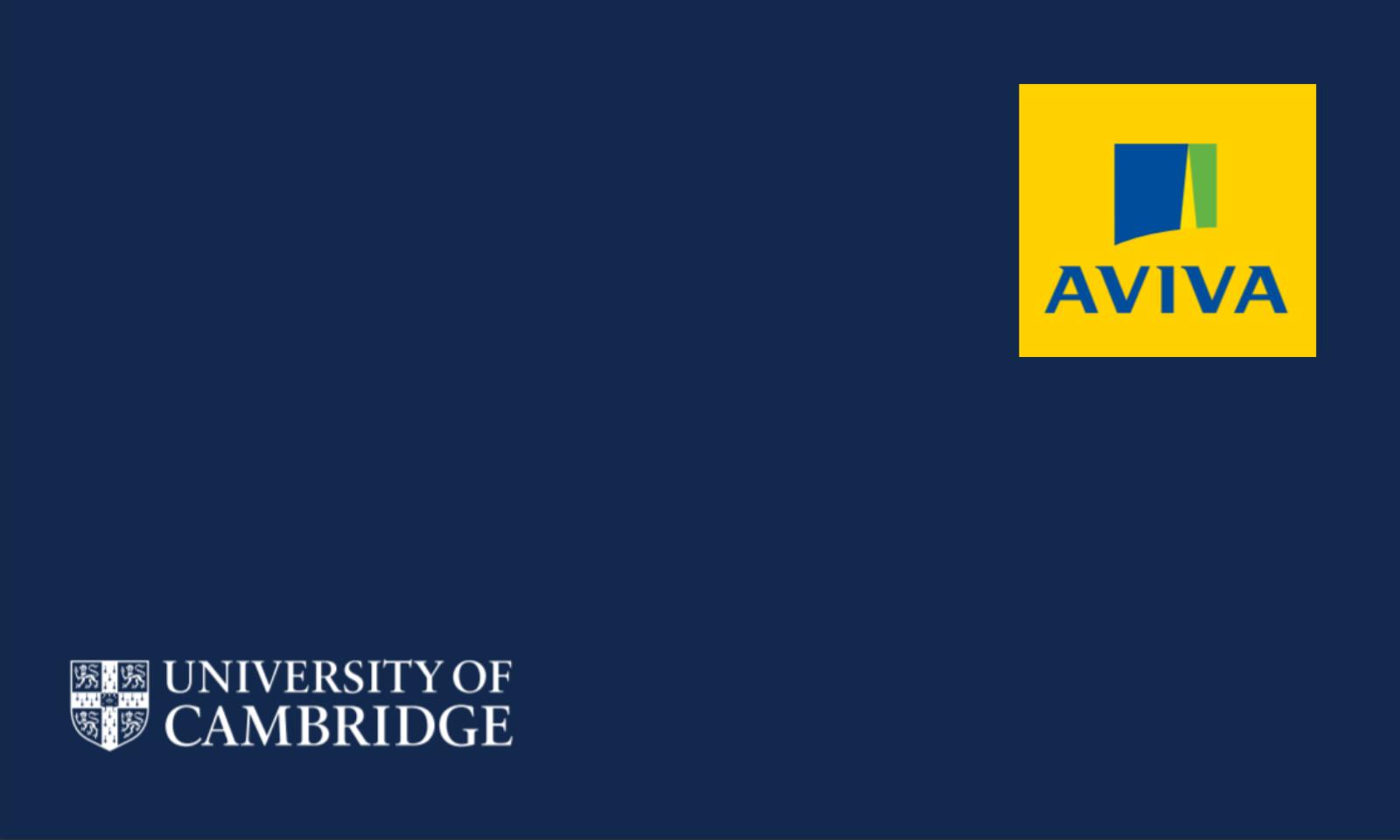 Aviva's data science partnership with the University of Cambridge
