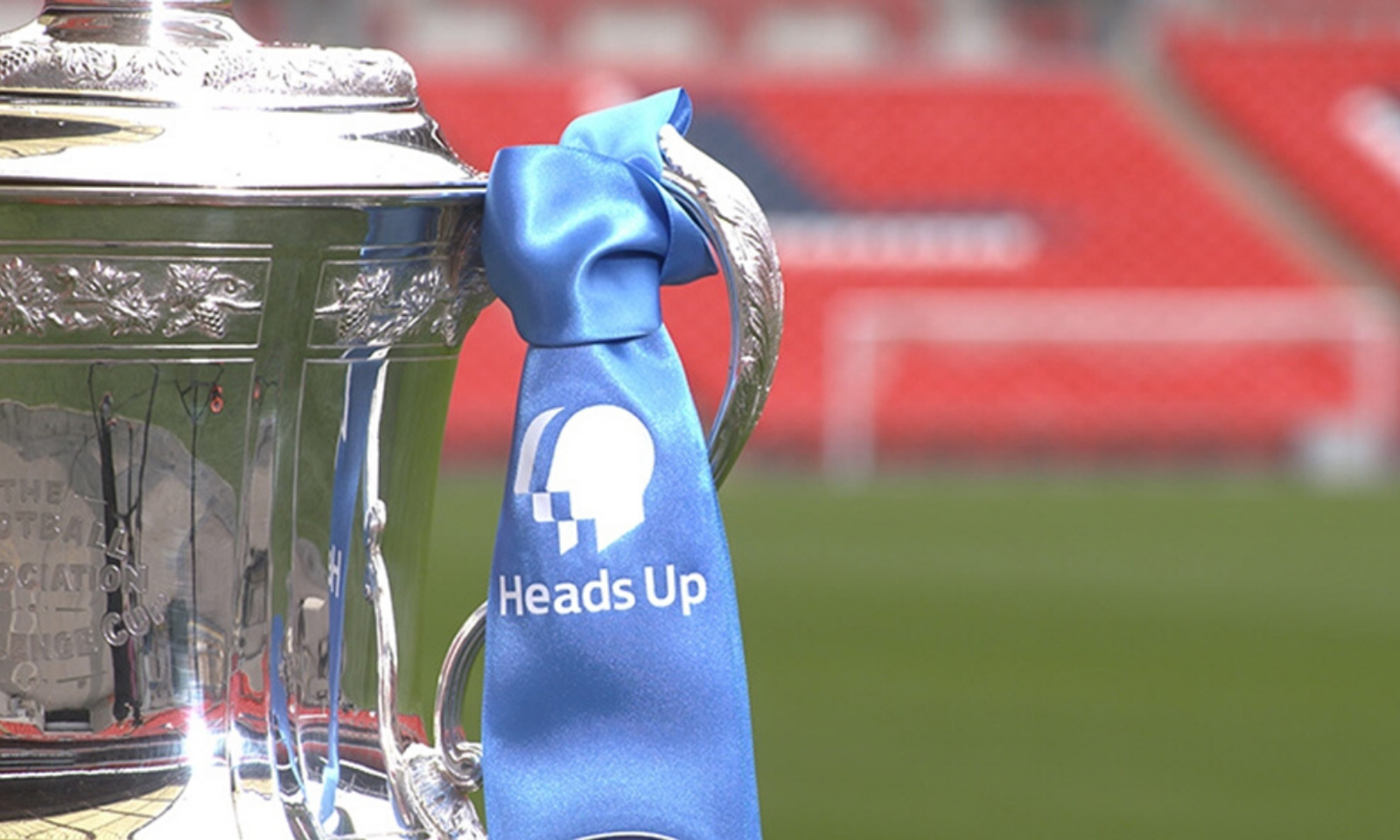 the Heads Up FA Cup Final trophy