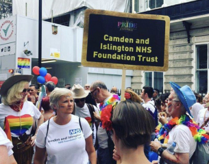 Camden & Islington NHS Foundation Trust at Pride