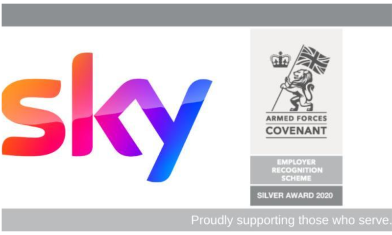 sky logo with army teh  covenant