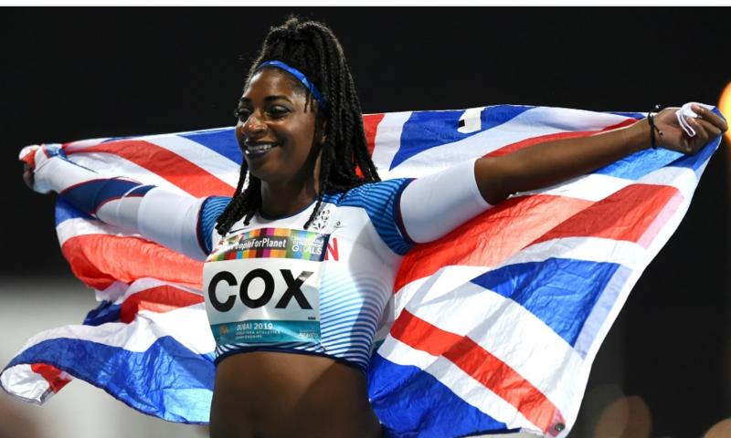 Paralympic and world champion Kadeena Cox