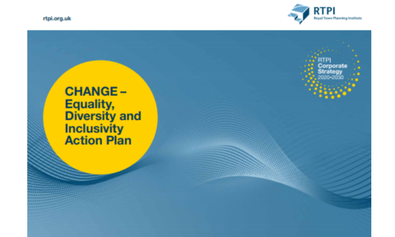 The RTPI has launched a 10-year action plan – CHANGE - to make the planning profession more diverse and inclusive.