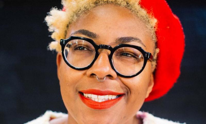 Natalie Ibu, outgoing Artistic Director of tiata fahodzi