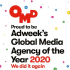 For the second consecutive year, OMD has been named 2020 Global Media Agency of the Year by Adweek
