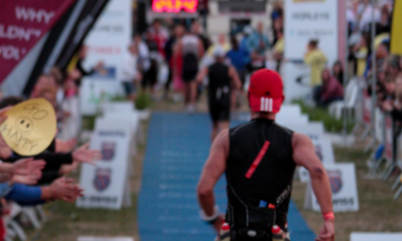 The finish line in sight for 'Ironman' Michael