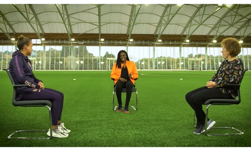 Both Nikita Parris and Kerry Davis opened up on their lives and careers on the pitch