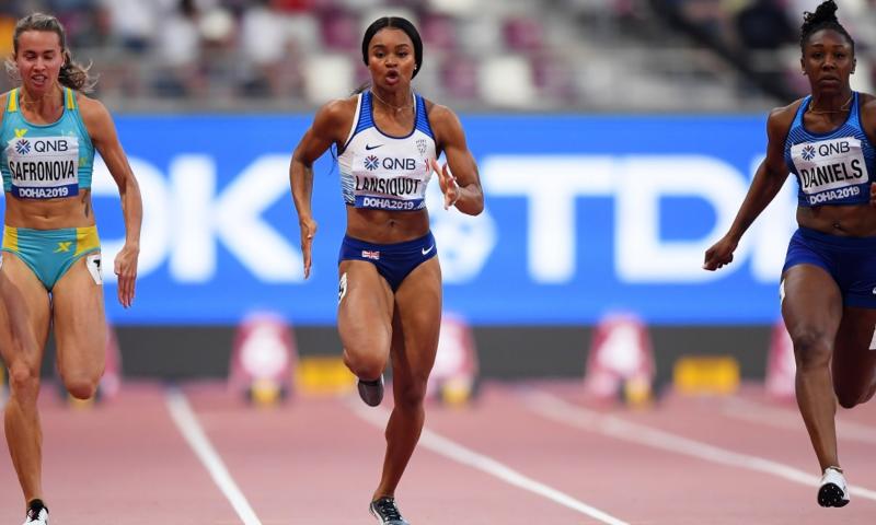 World silver medallist and European champion Imani-Lara Lansiquot