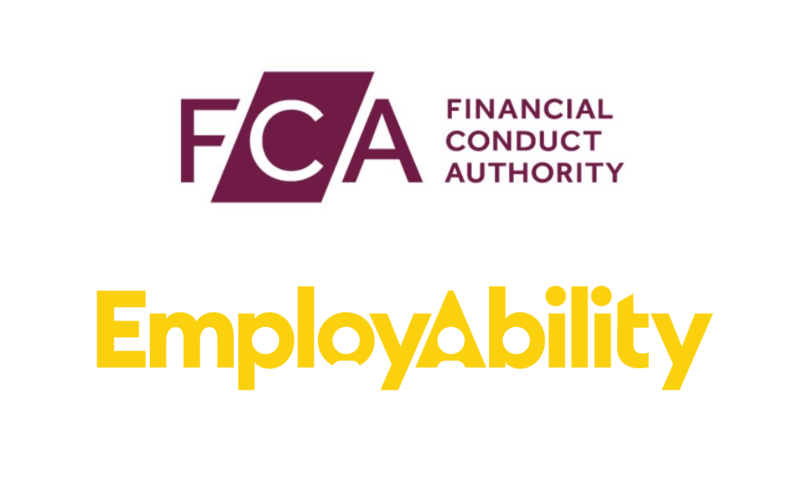 Financial Conduct Authority has partnered with EmployAbility Ltd