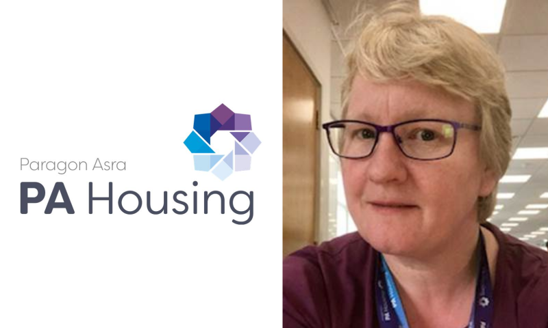 Allison Burgess who is the Supported Agency Services Co-Ordinator at PA Housing