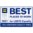 Human Rights Campaign Corporate Equality Index - Best Places to work for LGBTQ Equality