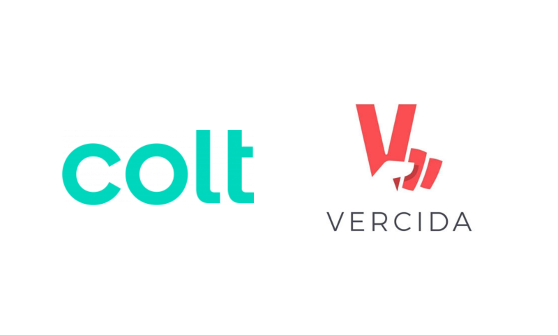 Colt logo. VERCIDA logo