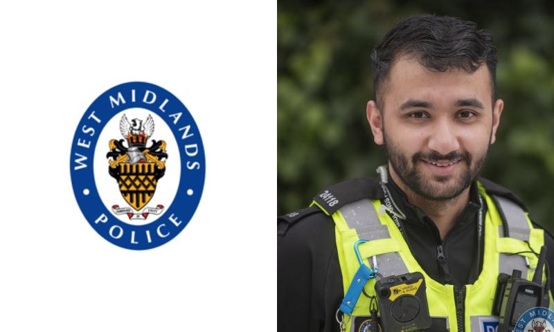 PC Gurdeep Karra, student officer