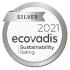 Silver Ecovadis Award 2021