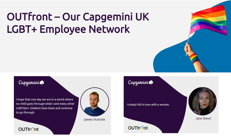 OUTfront – Our Capgemini UK LGBT+ Employee Network