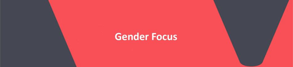 Gender focus banner