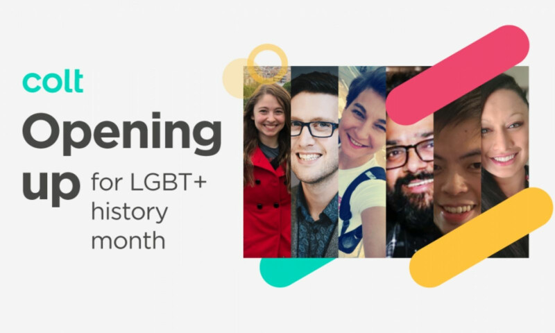 Colt opening up for LGBT+ history month