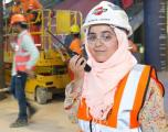 Reyam Al Jadder, quality controls superintendent.