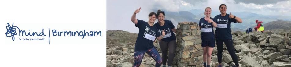 Female Mind charity volunteers taking part in the three peaks challenge