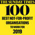 Sunday Times 100 Best Not-For-Profit Organisations To Work For 2019