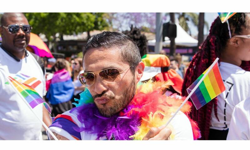 Waving the flag at Pride