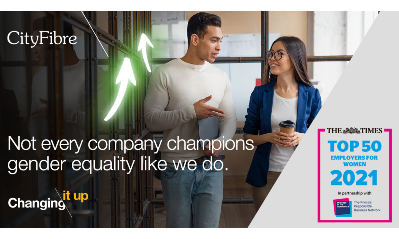 not every company champions gender equality like we do