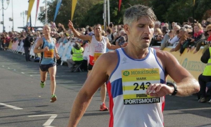 marathon-enthusiast Mark Campion