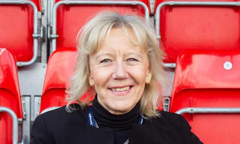 Surrey FA CEO Sally Lockyer