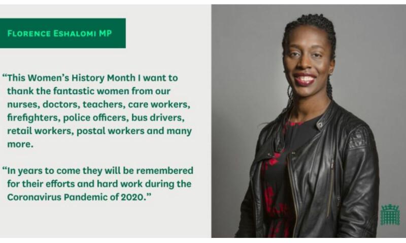 Florence Eshalomi, MP for Vauxhall