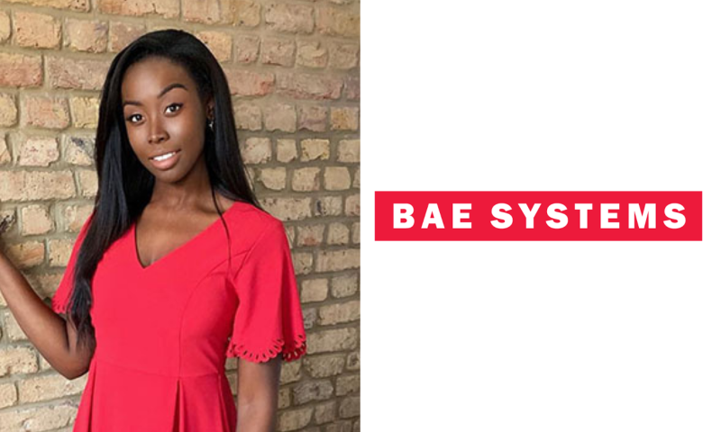 Cindy, Junior Solutions Architect at BAE Systems