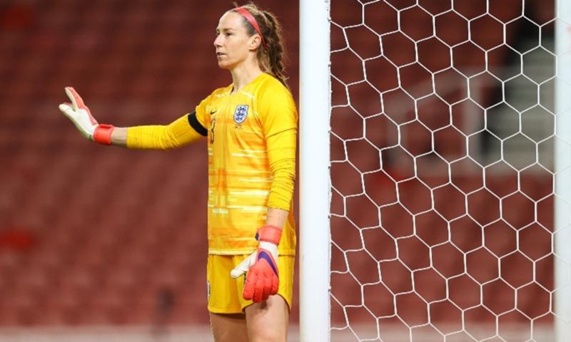 Karen Bardsley, England Women's goalkeeper