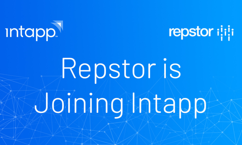Intapp Announces Plan to Acquire Repstor