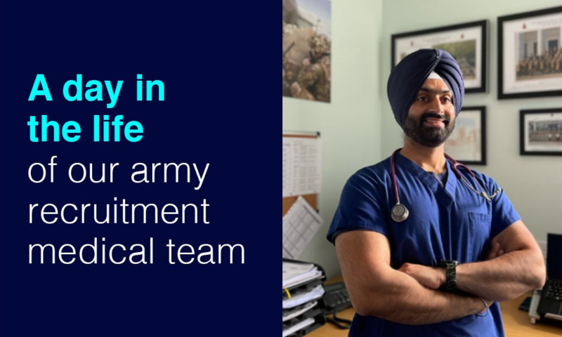 A day in the life of our Army recruitment medical team