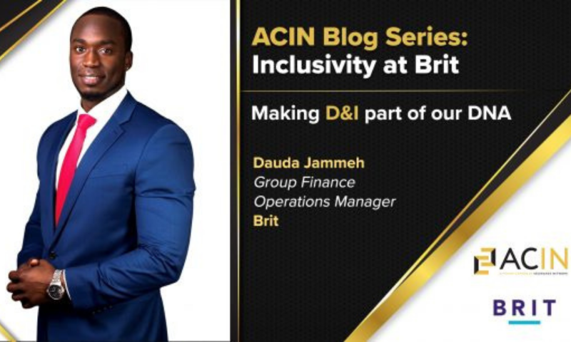 INCLUSIVITY AT BRIT: MAKING D&I PART OF OUR DNA