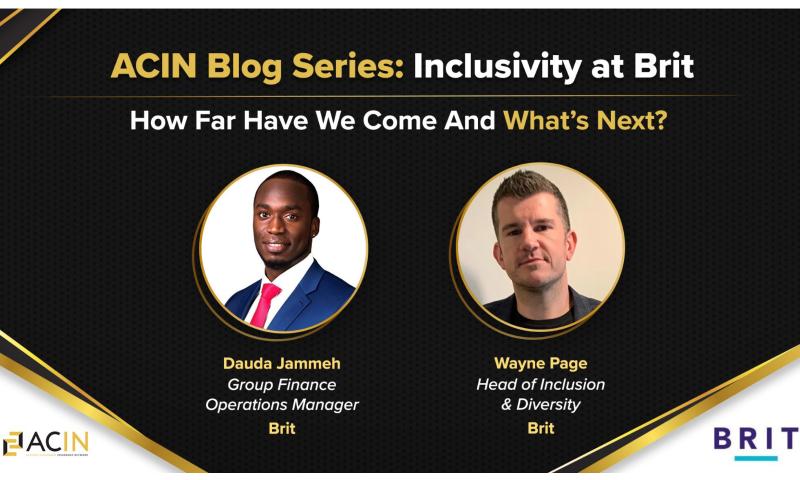 Inclusivity at BRIT