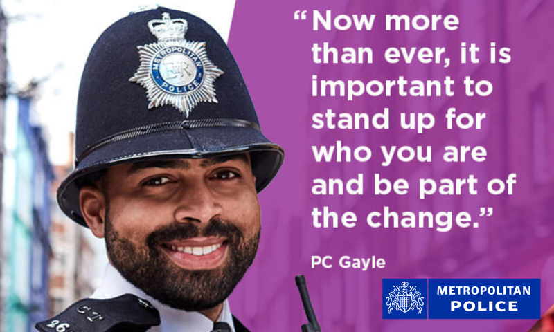 Met Police Diversity