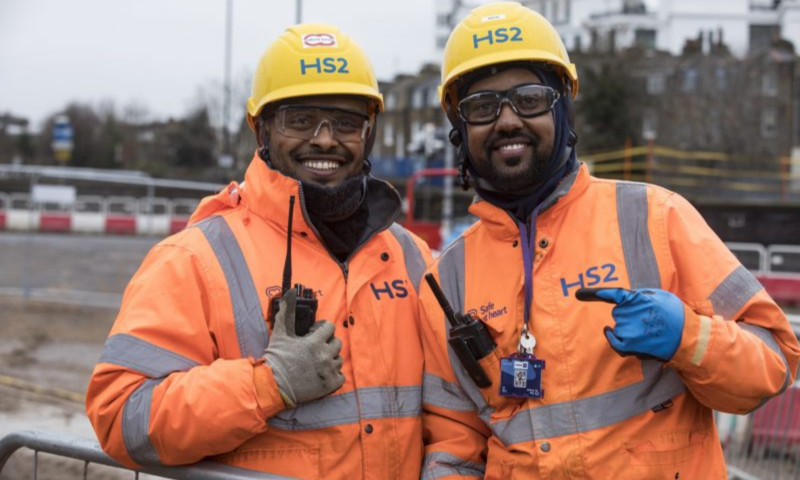 HS2 Ltd engineers