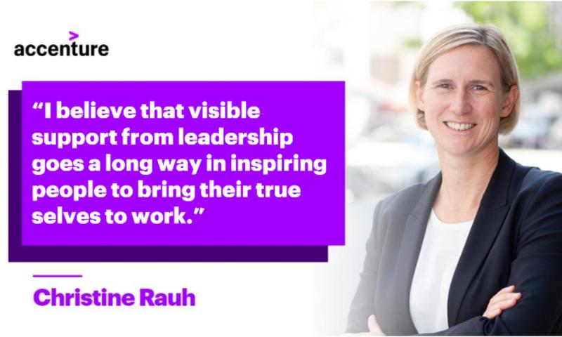 Christine Rauh, Managing Director, Accenture