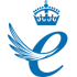 Image of crown with the text Queen's Award for Enterprise