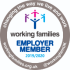 Image of the Working Families logo with the text  'changing the way we live and work.'