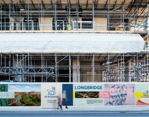 Image of a St Modwen construction site