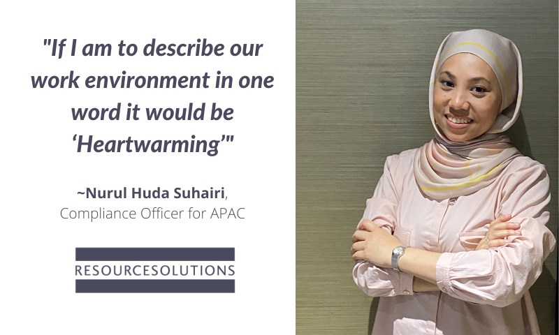 Nurul Huda Suhairi, Resource Solutions