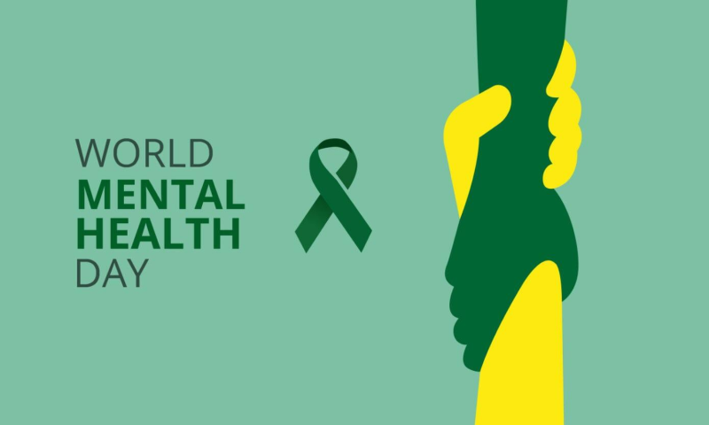 Sunday 10 October is World Mental Health Day